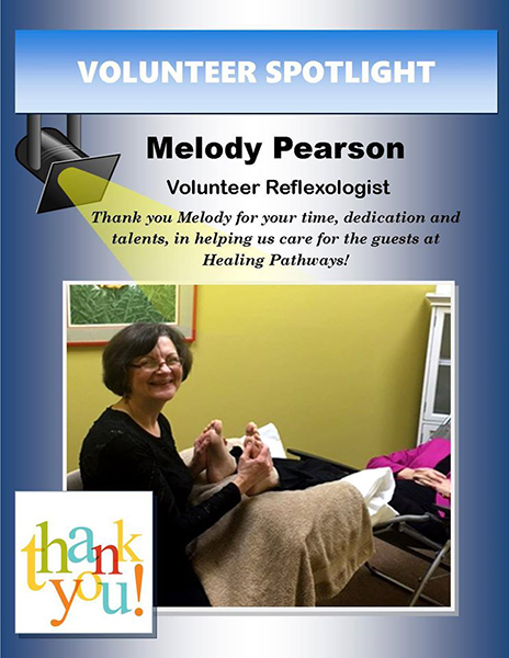 2016 Healing Pathways Volunteer Spotlight