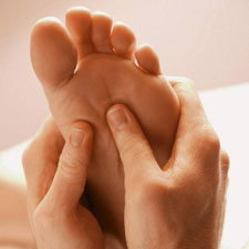 Reflexology on Feet